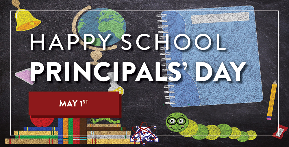 In honor of National School Principals Day, we at SANY would like to extend our gratitude and appreciation for our school Principals' for their hard work and dedication each year.
