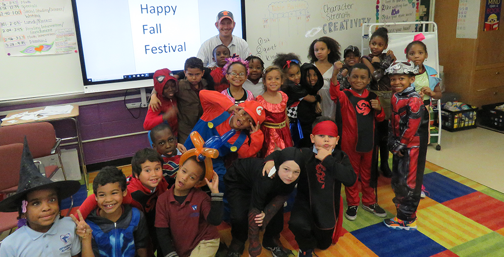 Elementary Atoms participated in their annual Fall Festival